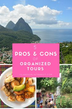 To tour or not to tour? That's the age old travel question. Here are 5 pros and cons of taking organized tours when you travel. Travel Advice, Travel Guides, Travel Tips, Travel Destinations, Travel Info, Travel Stuff, Travel Hacks, Backpacking Europe Tips, World Travel Guide