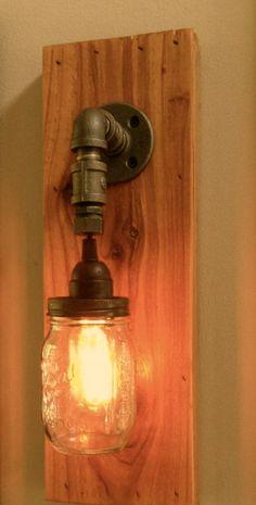 track lighting track and mason jars on pinterest betty 8 light mason jar