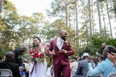 Just Married at the Cape Fear Botancical gardens.