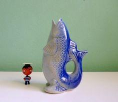 Vintage fish vase / fifties // Vintage Fisch Vase Japan  50er von ILoveSparrows auf DaWanda.com