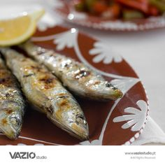 Portuguese grilled sardines by VAZIO studio / Food Photography, Food Styling, Packshots e Ambientes