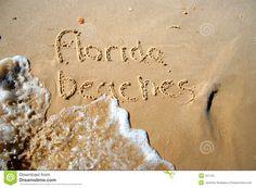 Florida Beaches Royalty Free Stock Photo - Image: 707725