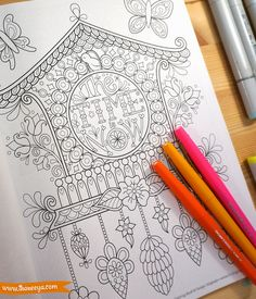 The Time Is Now Coloring Page From Thaneeya McArdles Live For Today Book