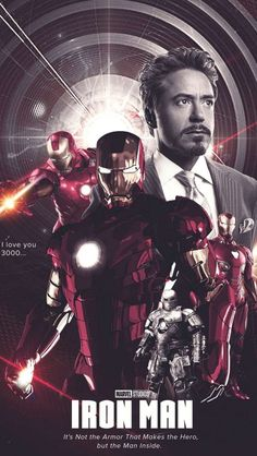 History of Iron Man iPhone Wallpaper - iPhone Wallpapers