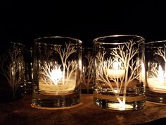 50 Piece Set 'Tree Branch' Candle Holders by daydreemdesigns