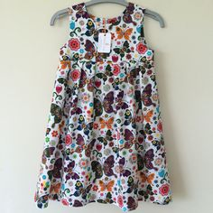Butterfly summer dress / sleeveless dress / by RosebudandCassie