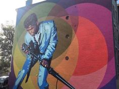 Things to do this week: Sept. 21-27. Photo: James Brown mural. Enquirer file photo