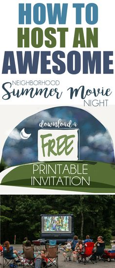 This post contains affiliate links. School is out and we are raring to go for a summer of fun around here! First order of business? Hosting an outdoor movie night for the neighborhood! When we moved into this new house, I volunteered to be the Special Events Coordinator for the entire neighborhood (I know, I know…I couldn't help myself). One of the summertime bucket list things I've always wanted to do is host an summermovie night. I intended to do  {Read More}