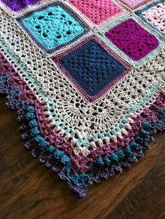 Pt 2 Vibrant Vintage CAL 2016 border edging afghan throw by cypress textiles https://cypresstextiles.net/2016/07/29/vvcal-border-part-2/comment-page-1/#comment-2358
