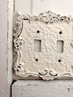 Flip Your Light Switch On And Off With This Vintage Anthropologie Tin Roof  Switch Plate On ShopStyle | Home Decor | Pinterest | Anthropologie, ...