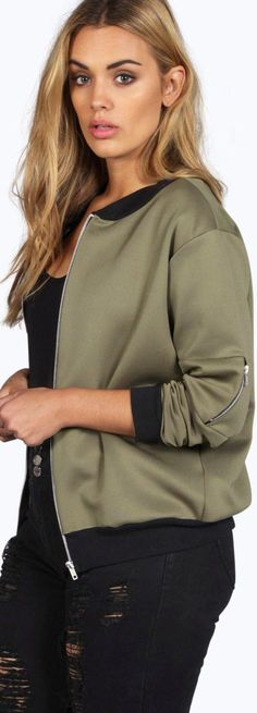 Plus Lucy MA1 Bomber Jacket - Coats & Jackets  - Street Style, Fashion Looks And Outfit Ideas For Spring And Summer 2017