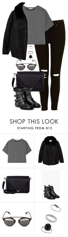 """Untitled #4893"" by eleanorsclosettt ❤ liked on Polyvore featuring T By Alexander Wang, Acne Studios, Alexander Wang, MANGO and Miss Selfridge"