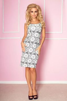 Elegantní dámské šaty 53-7