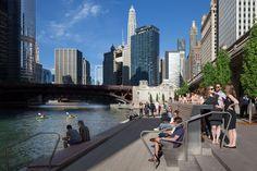 Gallery of Chicago Riverwalk / Chicago Department of Transportation - 18