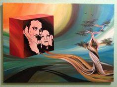 "Saatchi Art Artist Eka Peradze; Painting, ""Eka Peradze. 3D Painting. Love #77.Recently Sold"" #art"