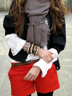 the best of two seasons layered for winter.