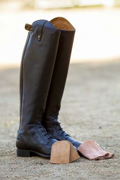Breaking In New Riding Boots the Easy Way