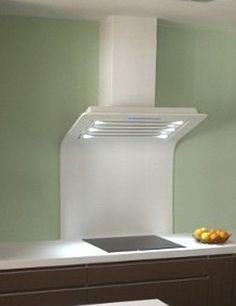 The new hoods by Streamline built using Corian solid surface material. Interesting!