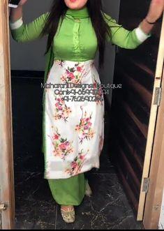 Punjabi Suit Design With Plazo Punjabi Suits Designer Boutique, Indian Designer Suits, Designer Salwar Suits, Designer Kurtis, Indian Suits, Designer Dresses, Patiala Suit Designs, Kurta Designs Women, Kurti Designs Party Wear