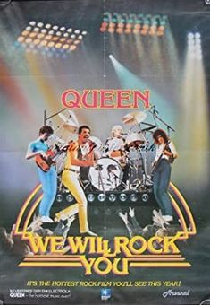 Illustrations Poster, Poster Wall, Poster Prints, Life Poster, Poster Poster, Typography Poster, Rock Band Posters, Queen Poster, We Will Rock You
