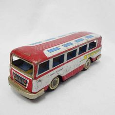 Vintage Toys - Vintage Chinese tinplate friction bus for sale in Cape Town… Buses For Sale, Cape Town, Vintage Toys, Chinese, Old Fashioned Toys, Old School Toys, Chinese Language