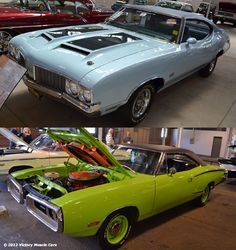 Name Your Muscle Car: Do you go with the 1970 Oldsmobile Cutlass 442 455 or the 1970 Dodge Super Bee 440?    #Olds #Mopar #MuscleCars