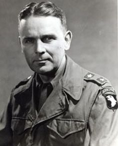 Maxwell D. Taylor ** Commanding General/ 101st Airborne Division
