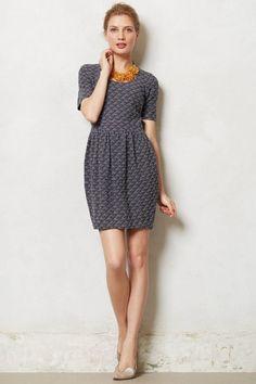 ecc729295b51 Anthropologie Dress Pleated Pencil Skirt Textured Athena By Ganni, MP  Petite | eBay