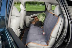 Car Seat Protector – Dog Seat Covers – Waterproof Hammock – Use this Mat on a Car Seat, Backseat, or on a Bench. Large size protects most cars, SUV, or truck -- Be sure to check out this awesome product. (This is an affiliate link) Walking Equipment, Dog Seat Covers, Car Seat Protector, Dog Car Seats, Diy Camping, Dog Carrier, Dog Accessories, Dog Walking, Hammock