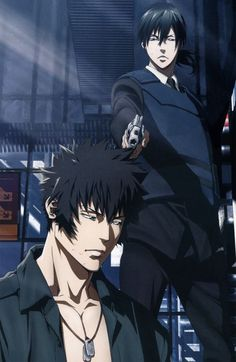 Find images and videos about anime, manga and psycho pass on We Heart It - the app to get lost in what you love. Awesome Anime, Anime Love, Anime Guys, Manga Anime, Anime Art, Passe Psycho, Ginoza Nobuchika, Science Fiction, Natsume Yuujinchou