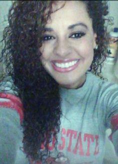 Curly,biracial, mixed girl hair