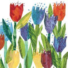 New Flower Art Projects For Kids Eric Carle Ideas Eric Carle, Kindergarten Art Projects, Famous Art, Spring Art, Art Graphique, Preschool Art, Painted Paper, Art Plastique, Teaching Art