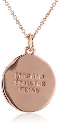 """kate spade new york """"Stop and Smell the Roses"""" Necklace, 18"""""""