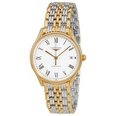 Longines Lyre White Dial Ladies Two Tone Watch L4.860.2.11.7 #Longines