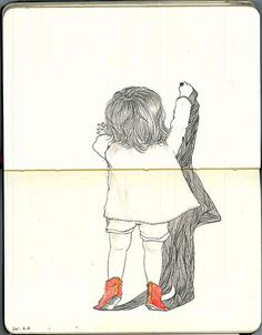 drawing by Yoshinori Kobayashi, via Flickr