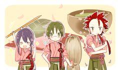 Comedy Anime, Ensemble Stars, Akatsuki, Chibi, Fan Art, Drawings, Illustration, Cute, Knights