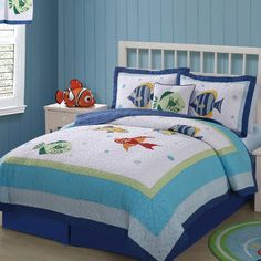 My World Colorful Sea Quilt set