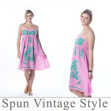 Sundress Strapless dress Bridesmaid Beach Wedding Embroidered Swimwear-Cover-Ups Mexican Bridesmaid Dresses, Swimwear Cover Ups, Embroidered Clothes, High Fashion Home, Strapless Dress, Vintage Fashion, Summer Dresses, Wedding Dresses, Beach