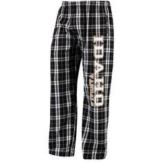 Idaho Vandals Classic Flannel Lounge Pants - Black/White