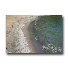 #PFTpin2win Water Photography Beach Decor Lakeshore by CrystalGaylePhoto, $3.50