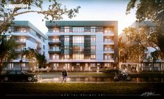 visualization campaign for zahraa maadi residential compound in egypt.,