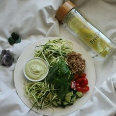 I will be skinny Lunch Recipes, Vegan Recipes, Lunch Meals, Tasty, Yummy Food, Girls In Love, Seaweed Salad, Food Preparation, Healthy Eating
