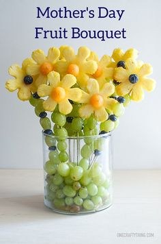 Fruit Bouquet Mothers Day