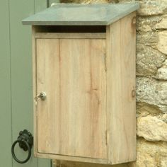 Garden Trading Wooden Wall Mounted Post Letter Box £24.95