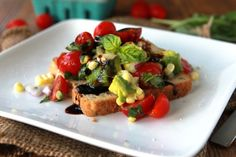 Summer Avocado-Tomato Toast