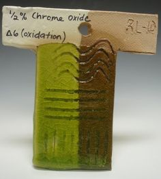 Recipe:  Lithium Carbonate 3  Strontium Carbonate 9  Ferro Frit 3110 59  EPK Kaolin 12  Silica 17  +  Chrome Oxide 0.5    Evaluation:  Transparent chartreuse, glossy, crazing.    This is a nice bright colored glaze, evident over white slip or white clay bodies. Over raw stoneware, it loses some of its brilliance and looks more olive green. Pooling occurs in the depressed areas of texture. Stability could be worked on to decrease some of the crazing.