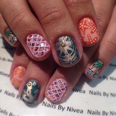 Instagram by nailsbynivea #nails #nailart #naildesigns
