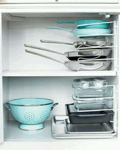 Organized storage area ideas for kitchen