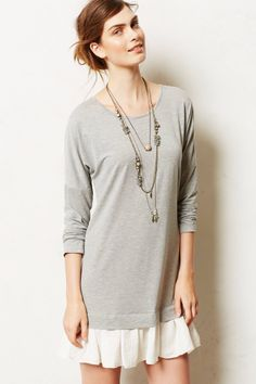 Ruffled Astor Tunic - mhmm #anthrofave