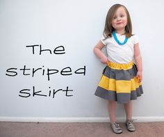The Striped Skirt